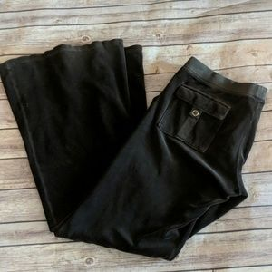 Juicy Couture Brown Velour pants